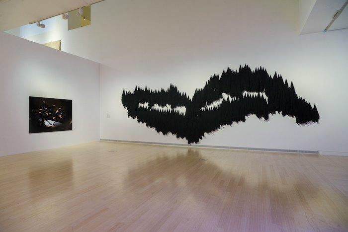 """Никита Шаленный. """"Сибирь"""". 2015. Инсталляция"""