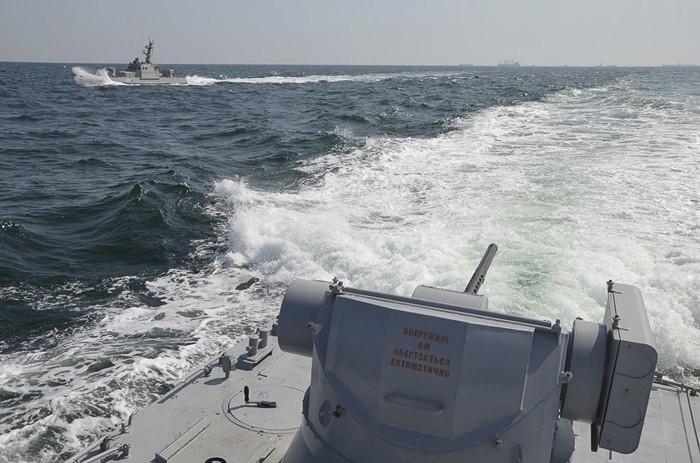 Командно-штабные учения ВМС ВС Украины 'Шторм - 2018'