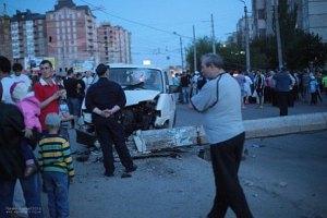 В Ивано-Франковске возмущенные аварией едва не линчевали пьяного гаишника