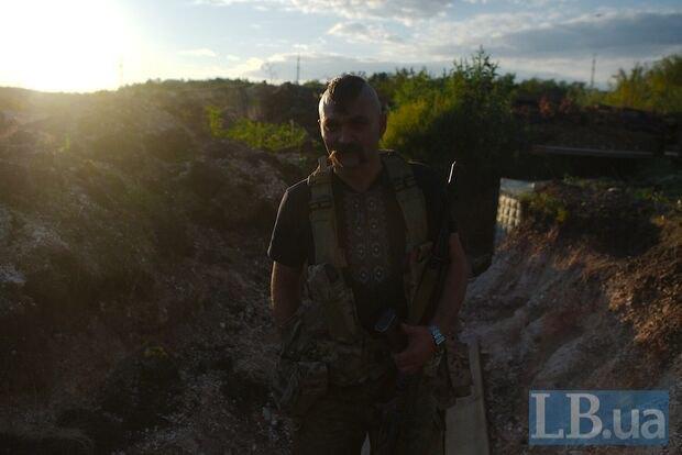 Мобилизованный преподаватель истории Владимир из Львова