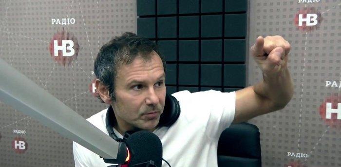 Святослав Вакарчук в гостях у Радио НВ