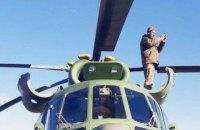 Военный вертолет совершил вынужденную посадку в Киевской области