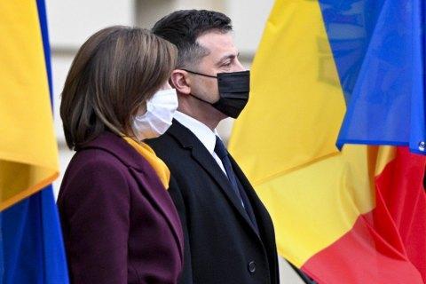 Украина и Молдова планируют построить транзитную магистраль Киев - Кишинев