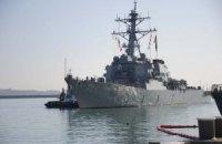 У Чорне море увійшов американський есмінець Ross