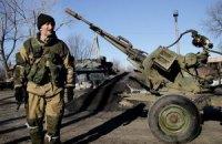 Бойовики до півночі обстрілювали позиції сил АТО із забороненої зброї