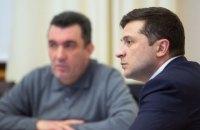 Зеленський обговорив з Даніловим плани роботи РНБО на найближчий час