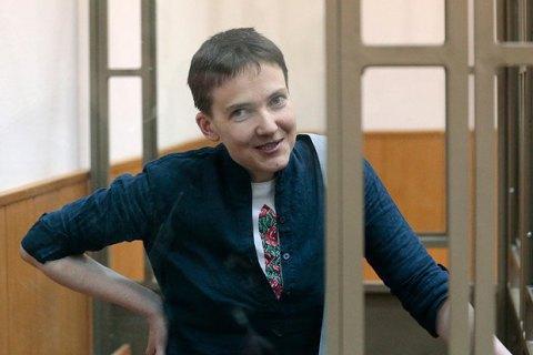 Савченко з 6 квітня починає сухе голодування, - адвокат