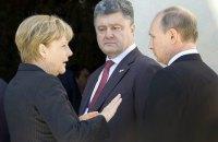 """Порошенко надеется на саммит """"нормандской четверки"""" до конца лета"""