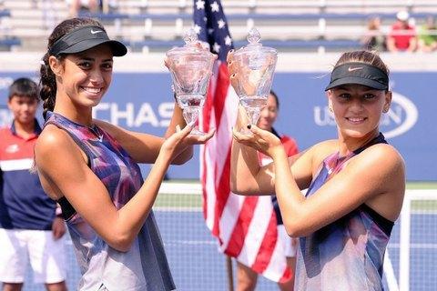 Украинка Марта Костюк выиграла юниорский US Open в парном разряде