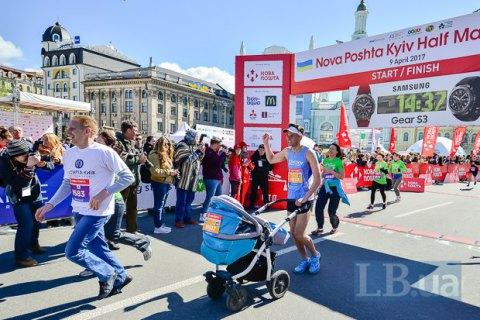 Через проведення напівмарафону 6-7 квітня в Києві обмежать рух транспорту