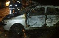 У Києві спалили близько 20 автомобілів з львівськими номерами