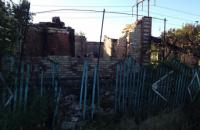 Из-за обстрелов боевиков сгорело 9 жилых домов в Пивденном