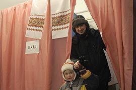 Рада запретила фотосъемку в кабинке для голосования