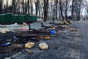 Влада Києва підрахувала збитки від акцій протесту в Києві