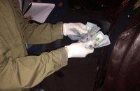 Офицера Генштаба ВСУ задержали на взятке в 3 тыс. долларов