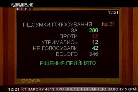 "Рада приняла за основу законопроект о реформировании ""Укроборонпрома"""