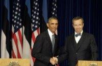 Обама: НАТО защитит Эстонию