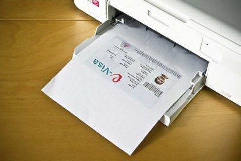 Украина выдала 11 тысяч е-виз в первый год их оформления