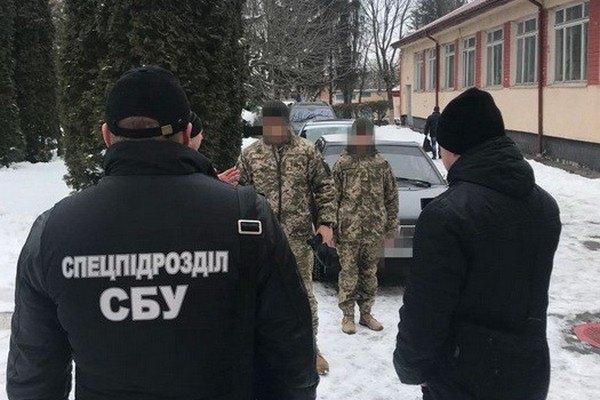 СБУ задержала навзятке вХмельницкой области командира воинской части