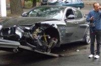 "В Одесі сталася ""мажорна"" аварія: Maserati зіткнулася з Mercedes"