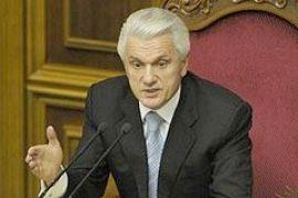 Литвин закрыл утреннее заседание Рады