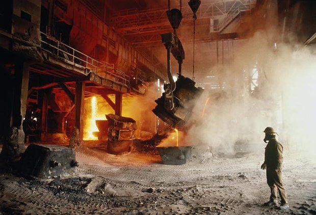Спад в металлургии тянет за собой всю экономику страны