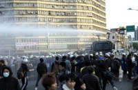 На Тайвані військові ветерани побилися з поліцією