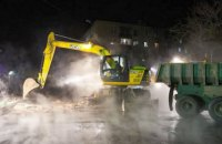 В Харькове из-за прорыва на тепломагистрали без отопления более 100 объектов