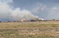В американском аэропорту Розуэлл при взрыве пострадали 12 пожарных