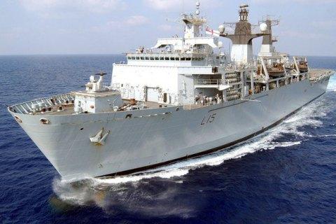 Британия направила фрегат следить за российским военным кораблем