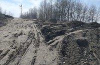"""Озеро Небреж на Осокорках засипають будівельним сміттям, - рух """"Чесно"""""""