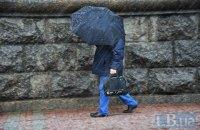 В пятницу в Киеве мокрый снег с дождем