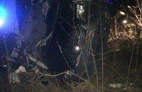 В ночном ДТП в Ровенской области пострадала семья с двумя детьми