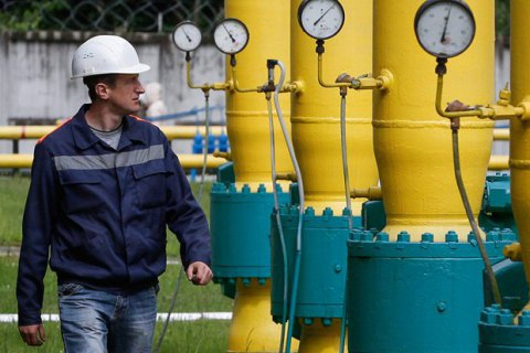 Вукраїнських сховищах запаси газу збільшилися до12 мільярдів кубів