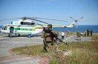 Прикордонники разом з МВС провели тренування у Чорному морі