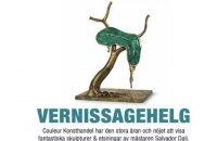 В Стокгольме из галереи украли скульптуры Сальвадора Дали стоимостью более миллиона долларов