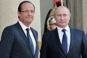 Путін зустрічається з Олландом: обговорять ситуацію в Україні