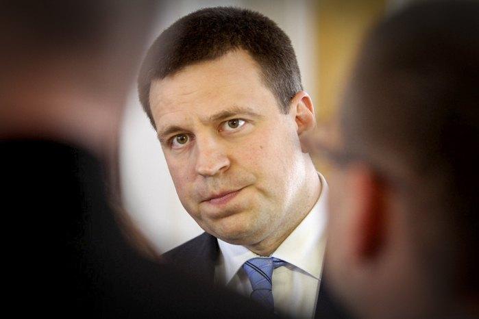 Прем'єр-міністр Естонії Юрі Ратас у день прийняття присяги урядом у парламенті, Таллінн, 29 квітня 2019 року
