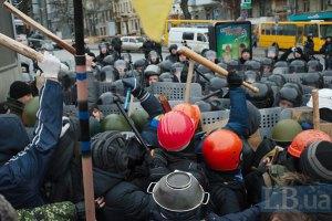 МВД: количество пострадавшых правоохранителей достигло 100 (обновлено)