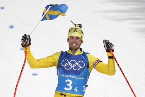 Шведские биатлонисты неожиданно победили в мужской олимпийской эстафете