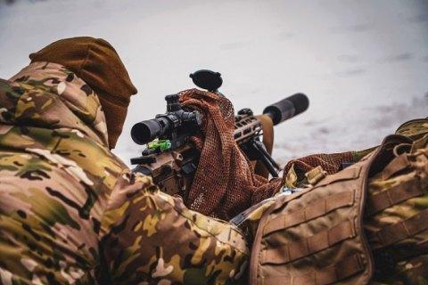 На Киевщине бойцы Нацгвардии прошли базовый курс подготовки снайперов