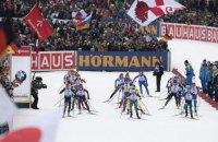 Украинские биатлонистки финишировали сразу за норвежками в эстафете на этапе Кубка мира