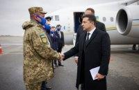 Зеленський на Хортиці присвоїв почесні найменування військовим частинам ЗСУ