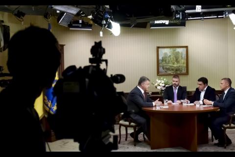 """Порошенко прокоментував """"план Мореля"""" про вибори на Донбасі"""