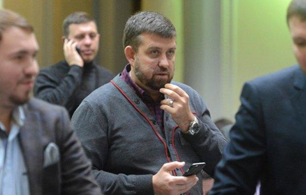 Олег Недава в парламенте