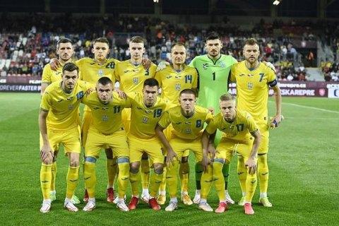 Украина опустилась ниже Японии в рейтинге ФИФА