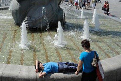 Спонедельника вгосударство Украину обрушится жара в