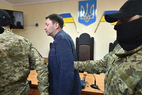 """Главе """"РИА Новости Украина"""" Вышинскому продлили арест на два месяца"""