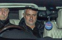 """Моуринью впервые пообщался с журналистами после увольнения из """"Манчестер Юнайтед"""""""