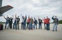 В Украину вернулись 14 украинских моряков, которые три года пребывали в тюрьме в Ливии (обновлено)